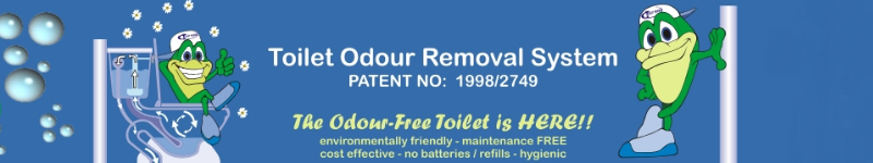 toilet odour removal system, mossel bay, george