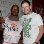 Rasego honored as Caddie of the Year in ceremony at HSBC