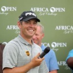 2012 Africa Open winner, Louis Oosthuizen; credit Luke Walker, Sunshine Tour