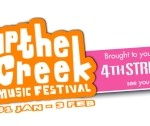 Up the Creek Music Festival brought to you by 4th  Street, Breederiver Swellendam: 31st January – 3rd February 2013