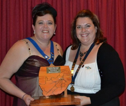 LCSA Raider Trophy – Michélle Jacobsz (Immediate Past Chairlady) and Elizabeth Theron (Chairlady 2013)