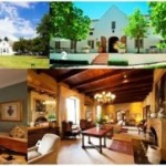 1.  Lanzerac Hotel & Spa.  2.  Lanzerac Wine Estate.  3.  One of the luxurious hotel rooms.  4.  The comfortable lounge area in the hotel.  5.  Executive Chef, Stephen Fraser