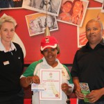 KFC Mini-Cricket Coach of the Month October 2013