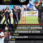 Chevrolet Warriors in unique T20 action in Oudtshoorn