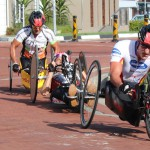 Record entries and fierce competition at 2014 OCC wheelchair race