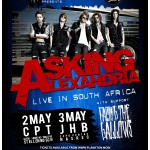 Asking Alexandria - Cape Town VENUE CHANGE details