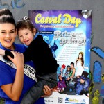 Miss SA supports Casual Day - a 20 year tradition!