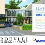 Paardevlei Specialist Medical Centre – Construction Under Way State-of-the-art Day Hospital & Eye Clinic