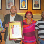 George Wins Nationally:  Govan Mbeki Human Settlements Award 2014