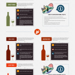 Caroline's Fine Wines: Wine & Food pairing infographic