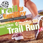 It's trail and Fun Day at Steenberg Vineyards on Saturday, November 8th