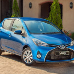 Toyota Yaris Hybrid is great in city traffic