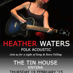 Heather Waters Live Show Gig Listing