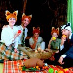 Fantastic Mr Fox in the forest at Hope @Paul Cluver Amphitheatre
