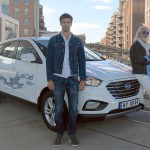 Record-breaking journey for fuel cell Hyundai ix35