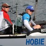 Plett father and son win silver at Hobie World Championships