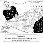 Cartoon - The Chess Match