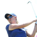 Simon 'rocks up' to lead Cape Town Ladies Open