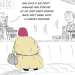 Cartoon - The Cabinet Minister Intervention