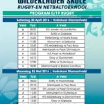 Wildeklawer Rugby Tournament Fixtures 2016