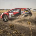 Poulter-Coetzee team in ding-dong battle to take first place at Secunda rally championships