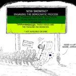 Cartoon - Engaging the Democratic Process