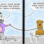 Cartoon - By Oath: State Capture?