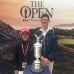 Son and Lamprecht make solid start at Junior Open