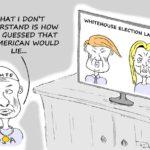 Cartoon - Lochte-Gate