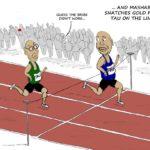Cartoon - The Joburg Mayorship Race for Gold
