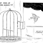 Cartoon - Gordhan Bleu!