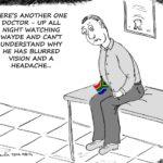 Cartoon - The Wayde Van Niekerk Effect