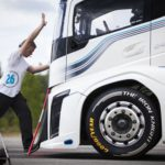 Volvo truck and Goodyear break two world speed records