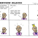 Cartoon - The Interview: Hlaudi
