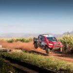 De Villiers takes charge of new Hilux Evo for Sun City 450