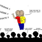 Cartoon: FeesMustFall - Except When...