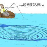 Cartoon - Democracy in Action!