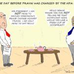 Cartoon - A Fresh Cup of Conspiracy