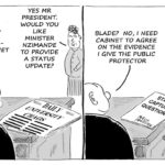 Cartoon - President Zuma Responds