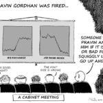 Cartoon - If Pravin Gordhan Was Fired...
