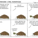 Cartoon - The Interview: Cyril Ramaphosa