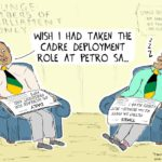 Cartoon - Spot the Difference: PetroSA vs MP's