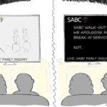 Cartoon - The SABC Blackout