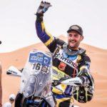 23 days to go: biker Thomas training hard for Dakar 2017