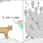 Cartoon - Is that a Lion?