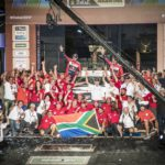 Three Toyota Hilux vehicles finish in top 10 at Dakar