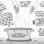 Cartoon - Recipe for Xenophobia