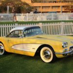 Rare muscle cars on show at this years Concours South Africa