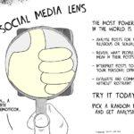Cartoon - The Social Media Lens