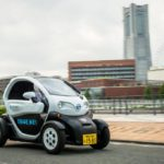 """Nissan launches car sharing service featuring """"mobility concept vehicle"""" in Yokohama"""